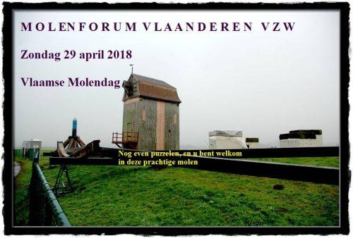Vlaamse Molendag 29 april 2018